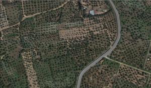 Δορυφορική εικόνα απεικόνισης αγροτεμαχίων